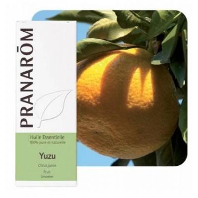 Yuzu Aceite Esencial Natural Quimiotipado de Pranarôm Pranarom 2212215 Acéites esenciales salud.bio