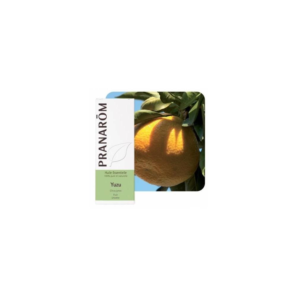 Yuzu Aceite Esencial Natural Quimiotipado de Pranarôm Pranarom 2212215 Aceites esenciales uso interno salud.bio