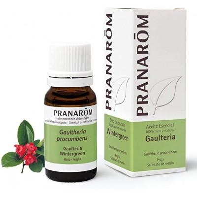 Gaulteria Aceite Esencial Natural Quimiotipado de Pranarôm Pranarom 227311 Acéites esenciales salud.bio