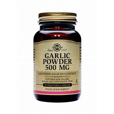 Ajo en polvo de cultivo controlado 500 mg. Organic Garlic de Solgar