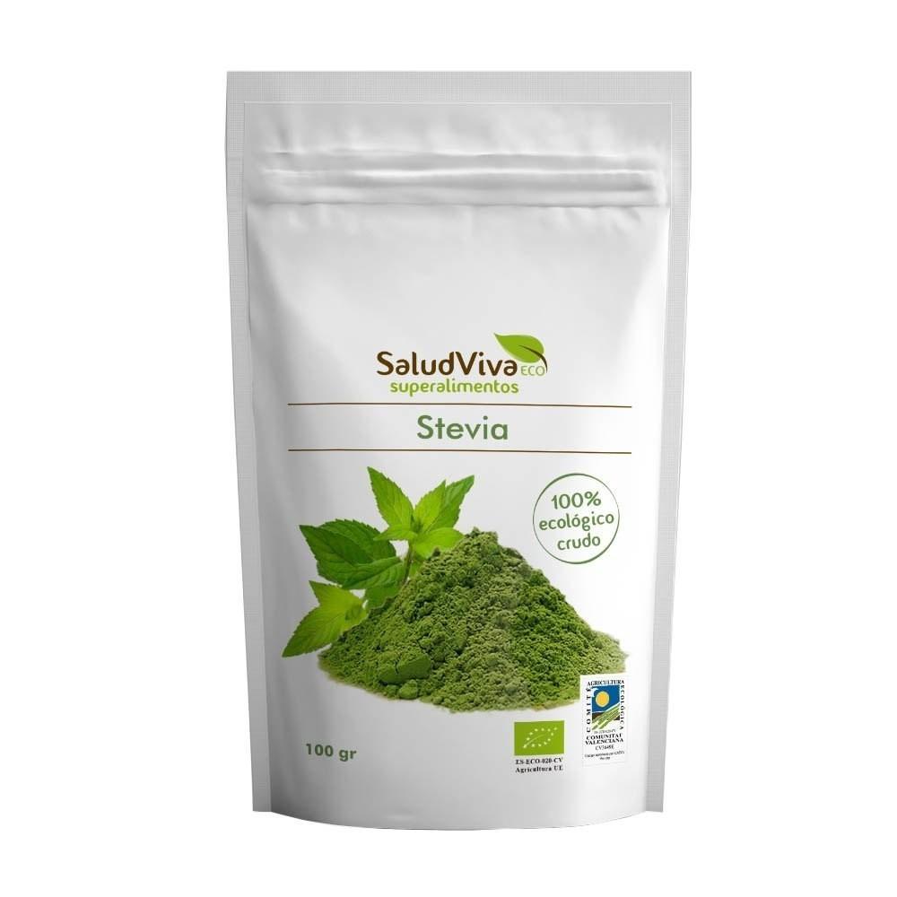 Stevia en polvo ECO BIO 100gr de SaludViva SaludViva 4465055444 Plantas Medicinales salud.bio
