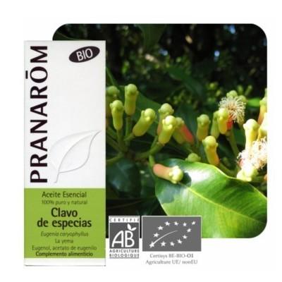 Clavo de Especias Aceite Esencial Natural Quimiotipado de Pranarôm Pranarom 227286 Acéites esenciales salud.bio