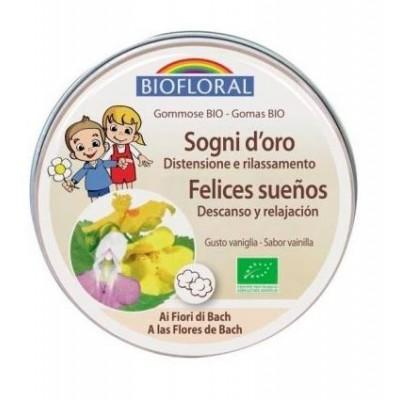 Gominolas Felices Sueños BIO (con flores de Bach) Biofloral BF004621 Flores de Bach salud.bio