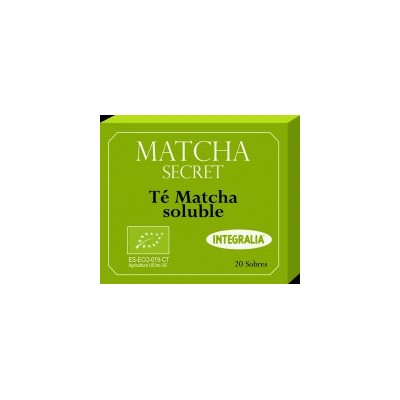 Té Matcha ECO Soluble de Integralia INTEGRALIA 480 Infusiones salud.bio