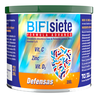 BIFISIETE Fórmula Advance Defensas de TonGil Tongil (Estado Puro) B22 Ayudas aparato Digestivo salud.bio