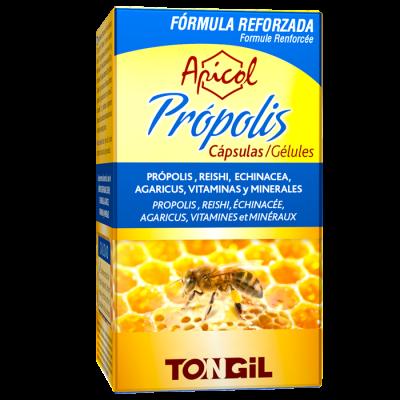 Apicol Própolis 40 Cápsulas de Tongil Tongil (Estado Puro) C02 Sistema inmunitario salud.bio