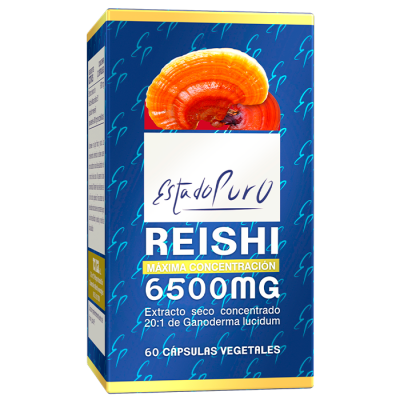 REISHI 6500 mg 60 Cápsulas de Tongil Tongil (Estado Puro) M04 Sistema inmunitario salud.bio