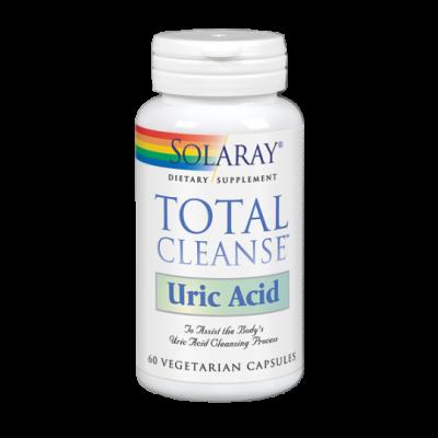 Total Cleanse™ Uric Acid 60 VegCaps de Solaray SOLARAY 35007 Higado y sistema hepatobiliar salud.bio