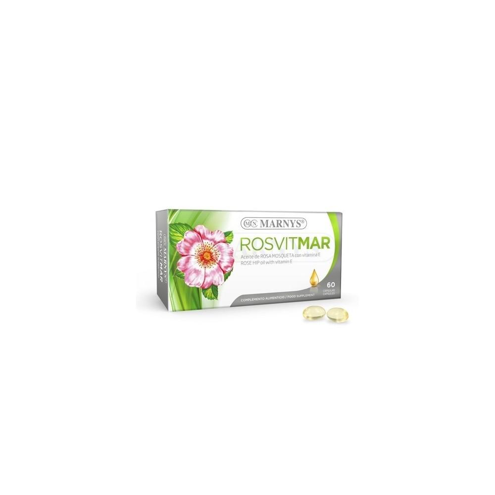 Rosvitmar Aceite de Rosa Mosqueta 60 Perlas de Marnys Marnys MN428 Antioxidantes salud.bio