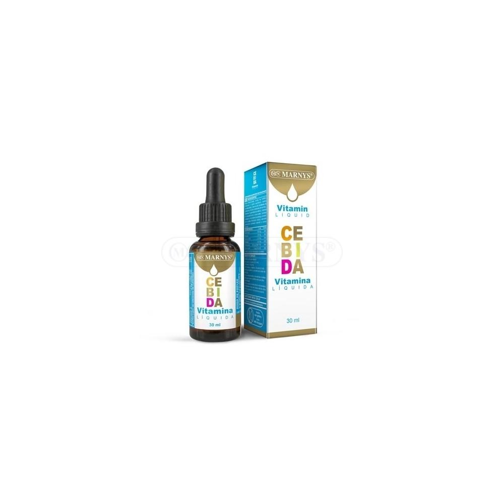 Multi Vitaminas CEBIDA Líquida 30ml de Marnys Marnys MN508 Vitamina A y D salud.bio