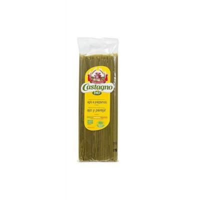 Espaguetis Ajo y Perejil bio 500gr Castagno Drasanvi 1937 Alimentación salud.bio