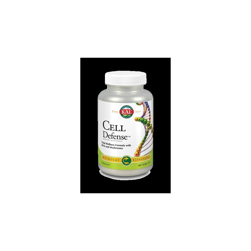 Cell Defense™ 60 Comprimidos, KAL de Solaray SOLARAY 67107 Sistema inmunitario salud.bio