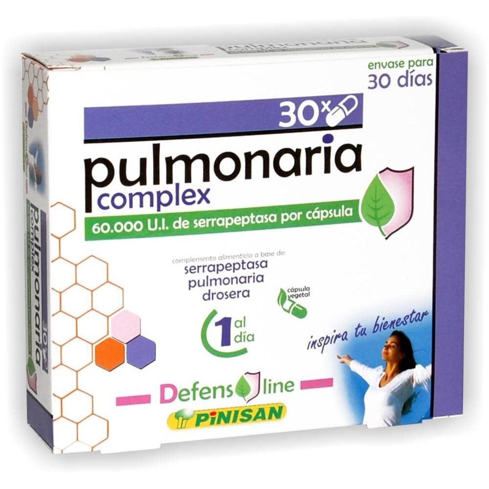 Pulmonaria Complex de Pinisan Tongil (Estado Puro) 106.00145 Sistema respiratório salud.bio