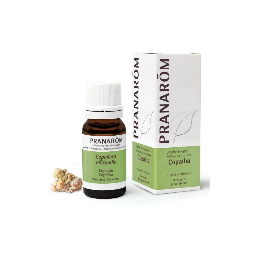 Copaiba Aceite Esencial Natural Quimiotipado de Pranarôm Pranarom 22194 Acéites esenciales salud.bio