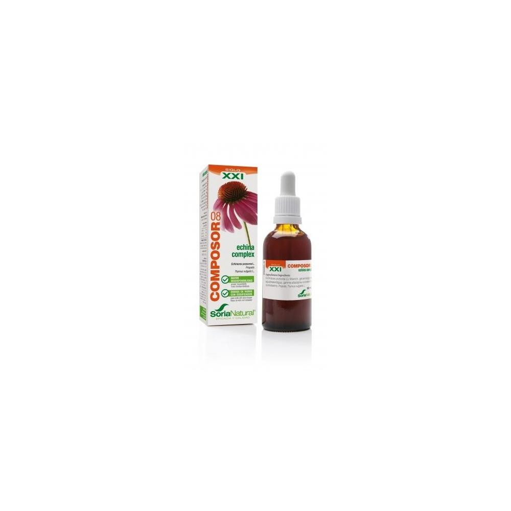 Composor 08 Echina Complex de Soria Natural  0410029086 Bienestar urinario. Ayuda en el bienestar urinario. salud.bio