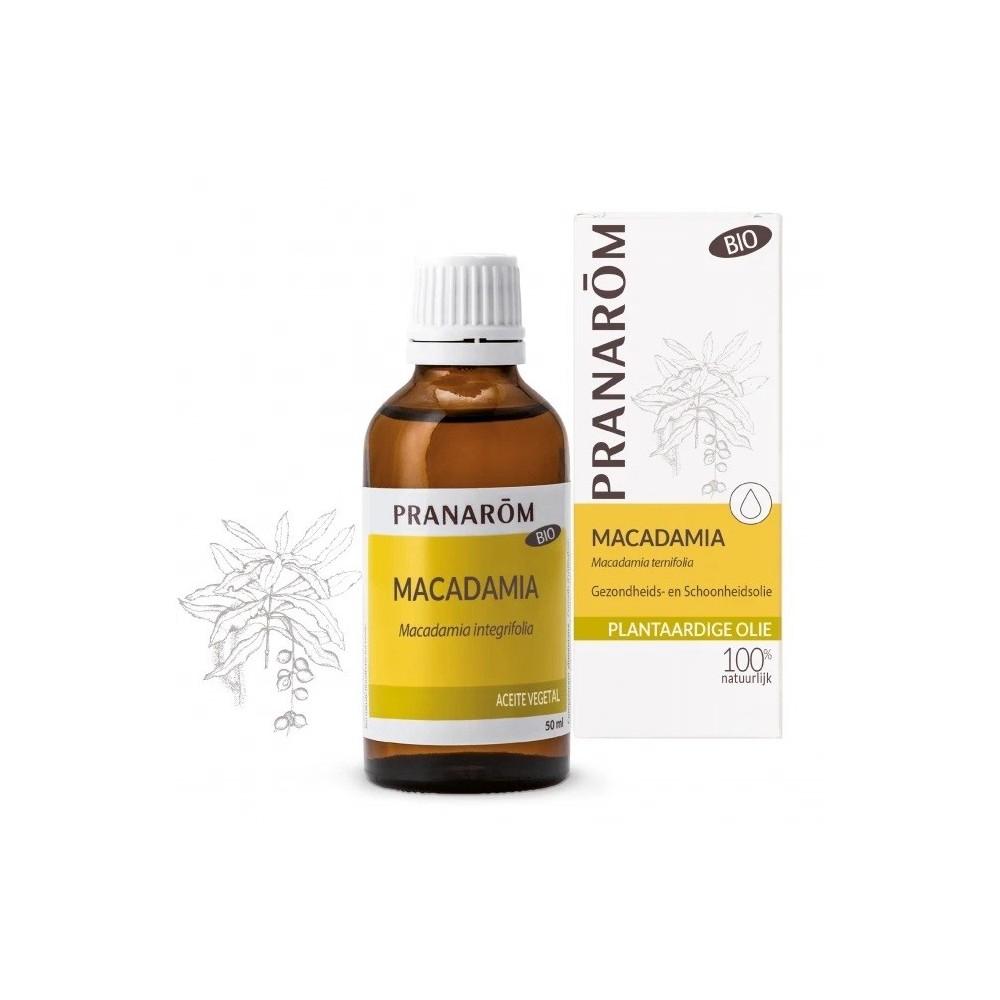 Macadamia virgen BIO 50 ml Aceite de Pranarôm Pranarom 226690 Aceites naturales salud.bio