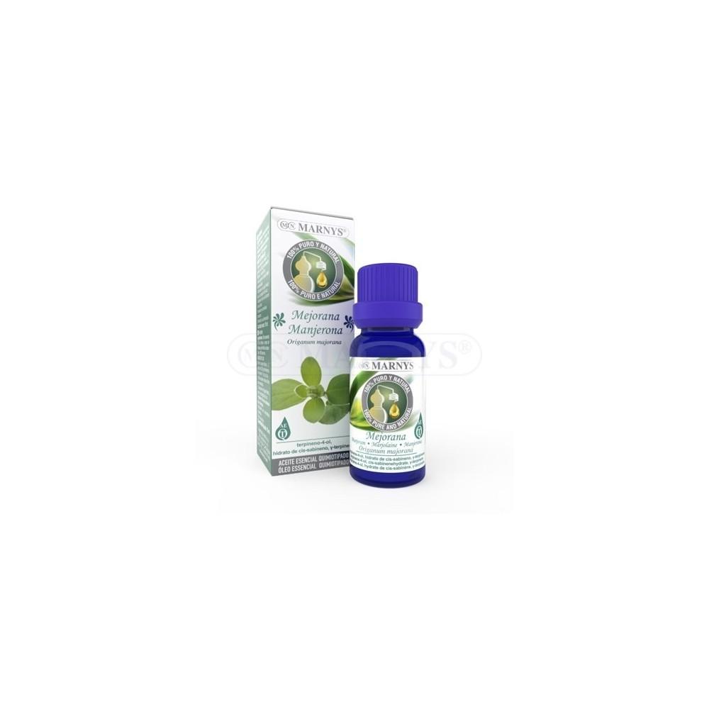 Aceite Esencial de Mejorana Quimiotipado de MARNYS Marnys AA016 Aceites esenciales uso interno salud.bio