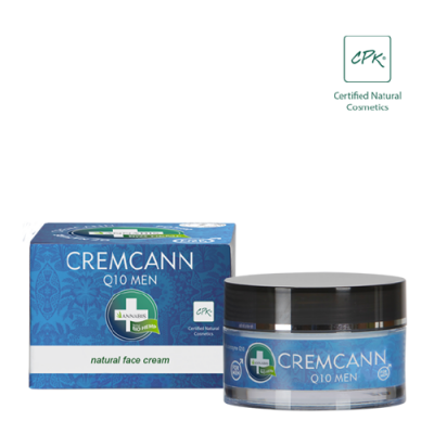 CREMCANN Q10 MEN – Crema Hidratante y Regeneradora FACIAL natural para Hombre de Annabis Annabis productos Naturales  2006-50...