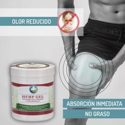 HEMP GEL – Gel de Cáñamo para Alivio y Masaje de Annabis Annabis productos Naturales  2015 Cosmética Natural salud.bio