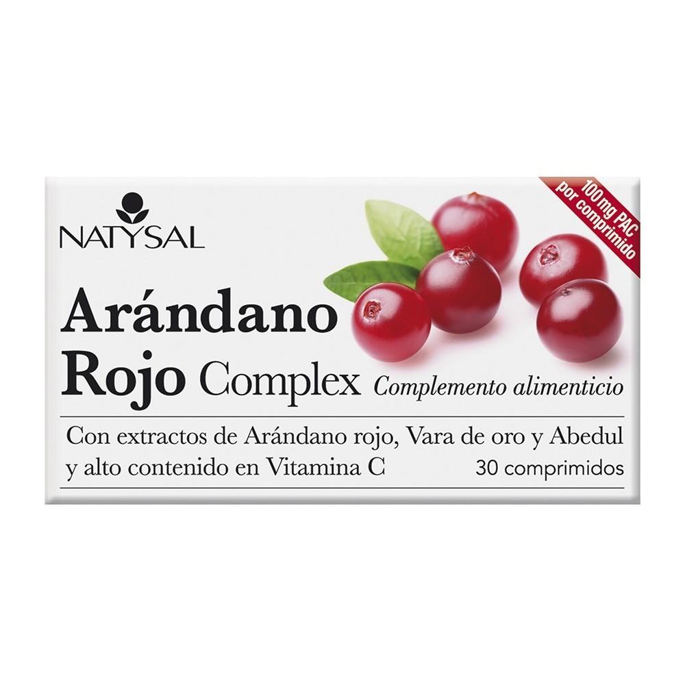 Arándano Rojo forte 30 capsulas de Natysal Natysal 13485 Bienestar urinario. Ayuda en el bienestar urinario. salud.bio