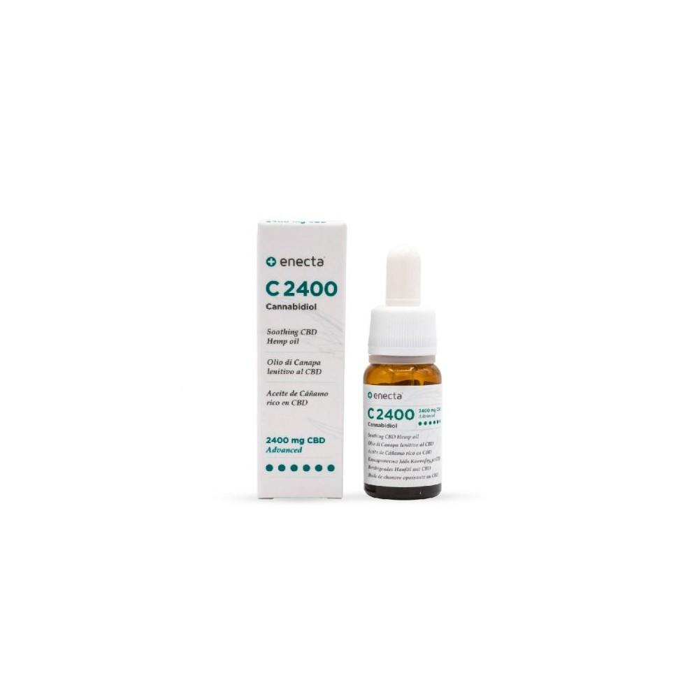 C2400 Aceite de Cañamo rico en CBD INTENSO 10ml de enecta enecta C2400 Estractos y tinturas  salud.bio