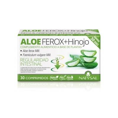 Aloe Vera Ferox + Hinojo 30 Comprimidos de Natysal Natysal 13522 Laxantes salud.bio