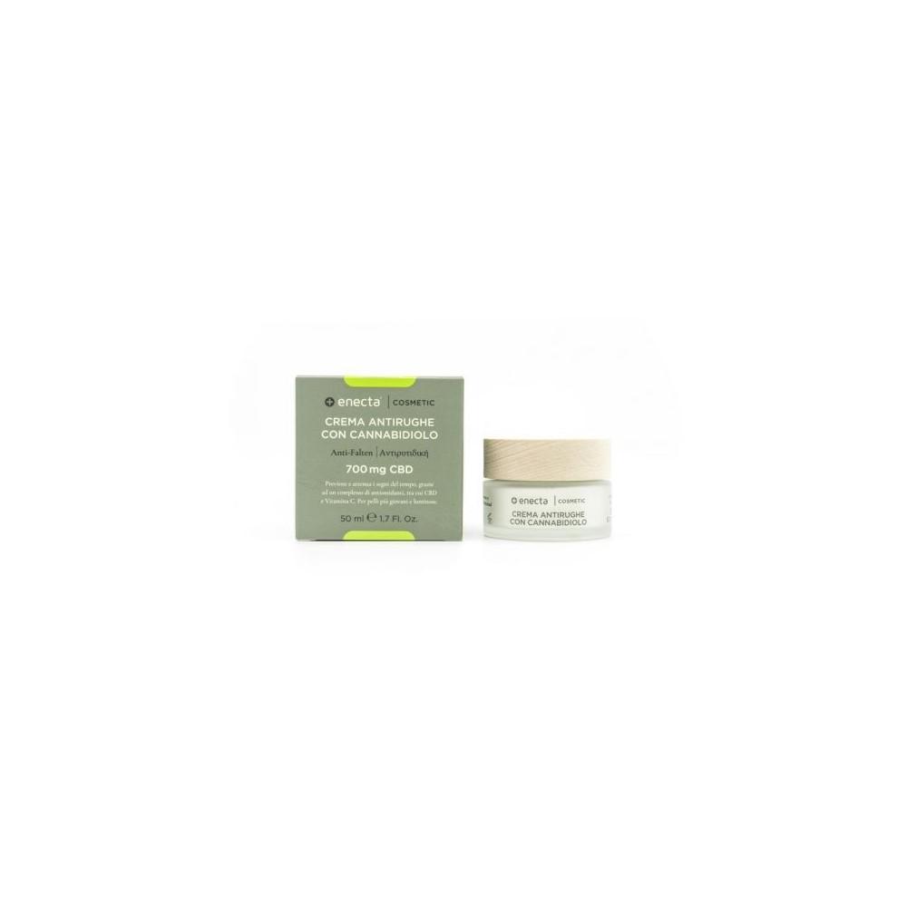 Crema Facial Antiarrugas Con CBD (700 mg) de enecta enecta 1005 Cosmética Natural salud.bio