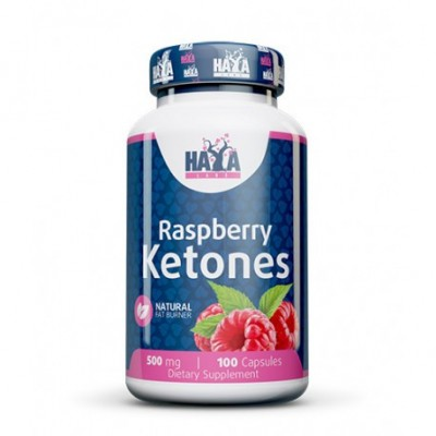 Cetonas de Frambuesa (Raspberry Ketones) 500mg - 100 Caps. de Haya labs Haya Labs LLC 15381 Quemagrasas y similares salud.bio