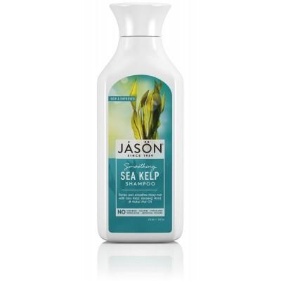 Pure Natural Champu, Algas Kelp, 16 fl oz (473 ml) de JASÖN JĀSÖN 300003 Jabones y Geles Naturales salud.bio