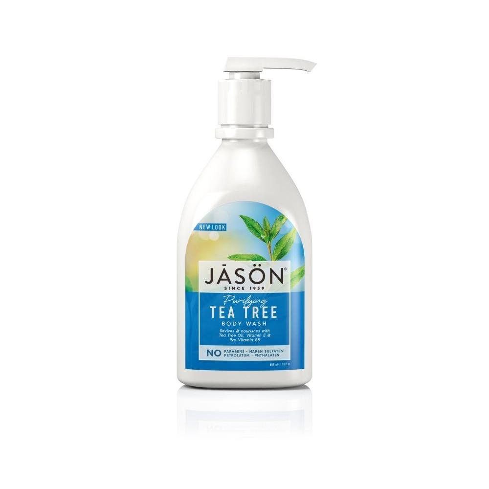 Jasön Gel de ducha de Arbol del Té 887ml JĀSÖN 300163 Jabones y Geles Naturales salud.bio