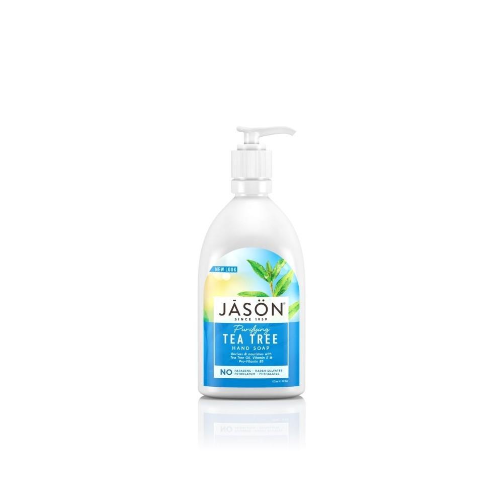 Jasön Gel de manos Arbol del Te 473ml JĀSÖN 300144 Jabones y Geles Naturales salud.bio