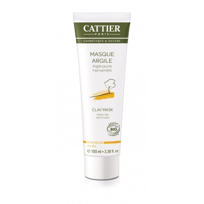 CATTIER Mascarilla Arcilla Amarilla (p.seca) 100ml Cattier CAT059 Cosmética Natural salud.bio