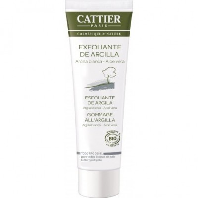 CATTIER Exfoliante de Arcilla 100ml Cattier CAT013 Cosmética Natural salud.bio