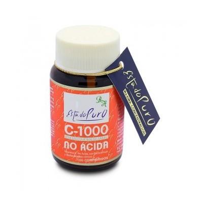 Vitamina C-1000 No Acida 100 comp Estado Puro de Tongil Tongil (Estado Puro) M26 Inicio salud.bio