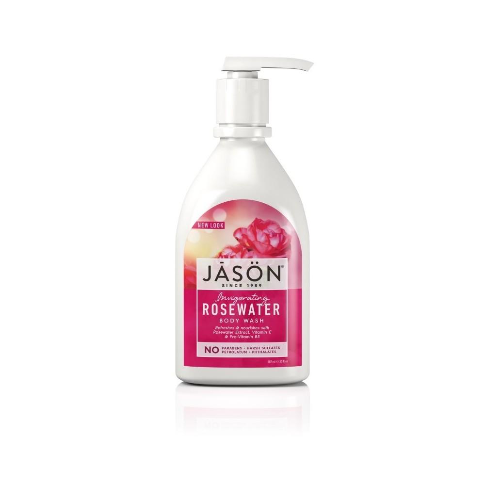 Jasön Gel de ducha Agua de Rosas 887ml JĀSÖN 300162 Jabones y Geles Naturales salud.bio