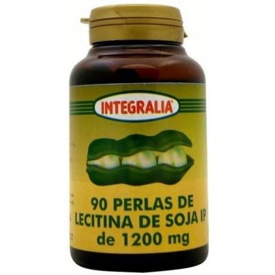 Perlas de Lecitina de Soja de 1200 mg. Integralia