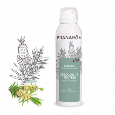 Hidrolato Árbol del té Tea Tree BIO - 150 ml de Pranarôm Pranarom 2218160 Acéites esenciales salud.bio