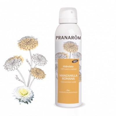 Hidrolato Manzanilla Romana BIO - 150 ml de Pranarôm Pranarom 2215878 Acéites esenciales salud.bio