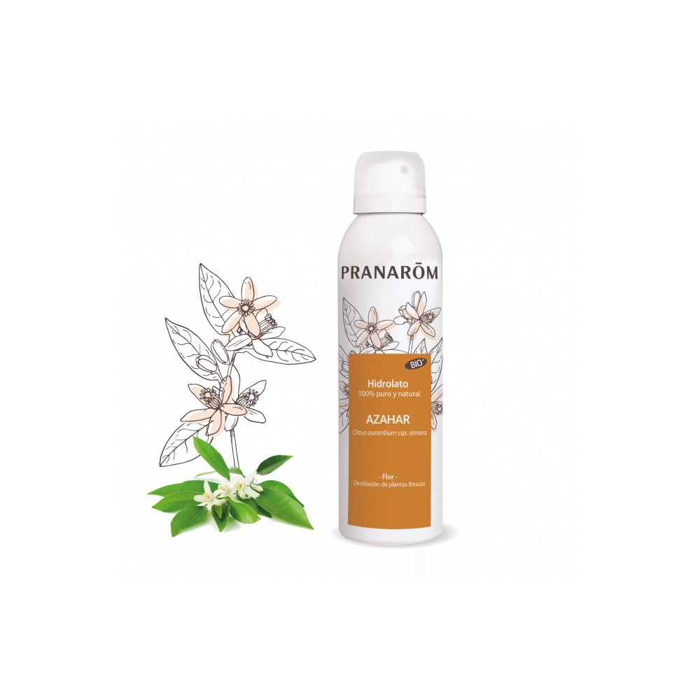 Hidrolato Azahar (Neroli) BIO - 150 ml de Pranarôm Pranarom 2218156 Acéites esenciales salud.bio