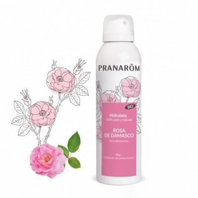Hidrolato Rosa de Damasco BIO - 150 ml de Pranarôm Pranarom 2217912 Acéites esenciales salud.bio