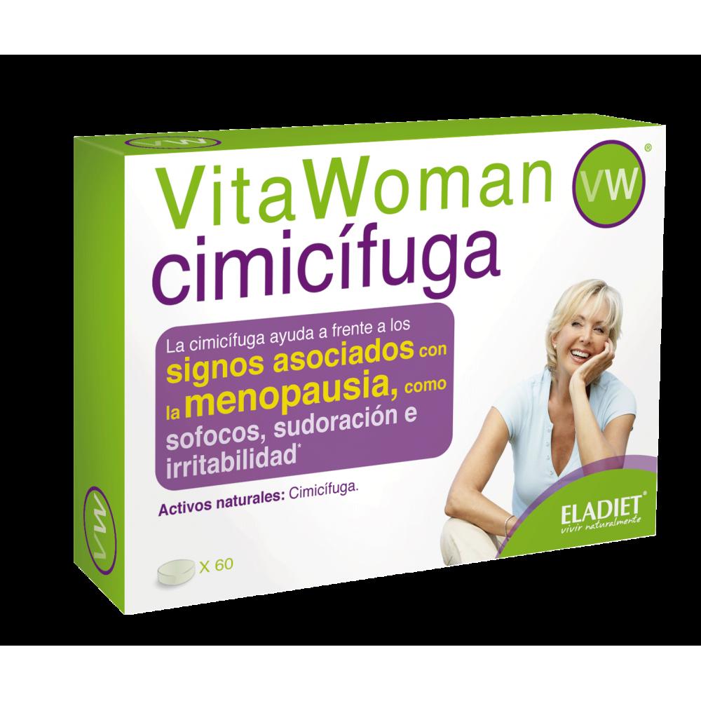 VitaWoman CIMICÍFUGA 60 comp. de Eladiet ELADIET Elaborados Dieteticos, s.a. PA.WOM.CIM.12 Menopausia salud.bio