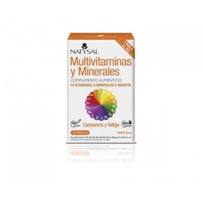 Multivitaminico y Minerales de Natysal Natysal 13506 Vitaminas y Multinutrientes salud.bio