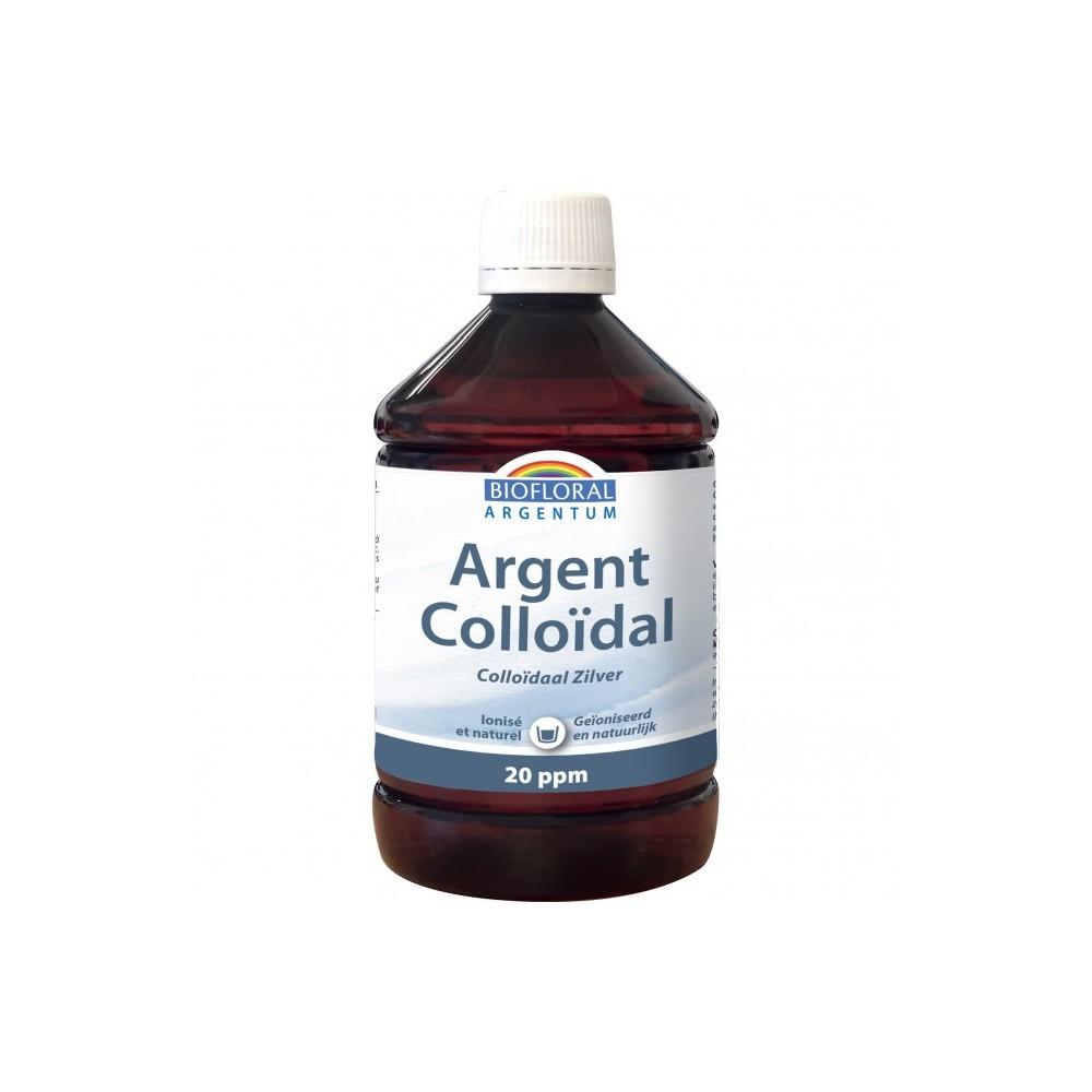 Colloidal silver 20 PPM natural (Plata Coloidal) de Biofloral Biofloral BF041060 Oligoelementos salud.bio