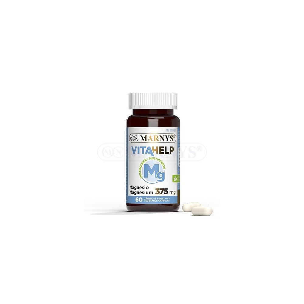 Magnesio 375 mg Línea VITAHELP de Marnys Marnys MN812 Vitaminas y Minerales salud.bio
