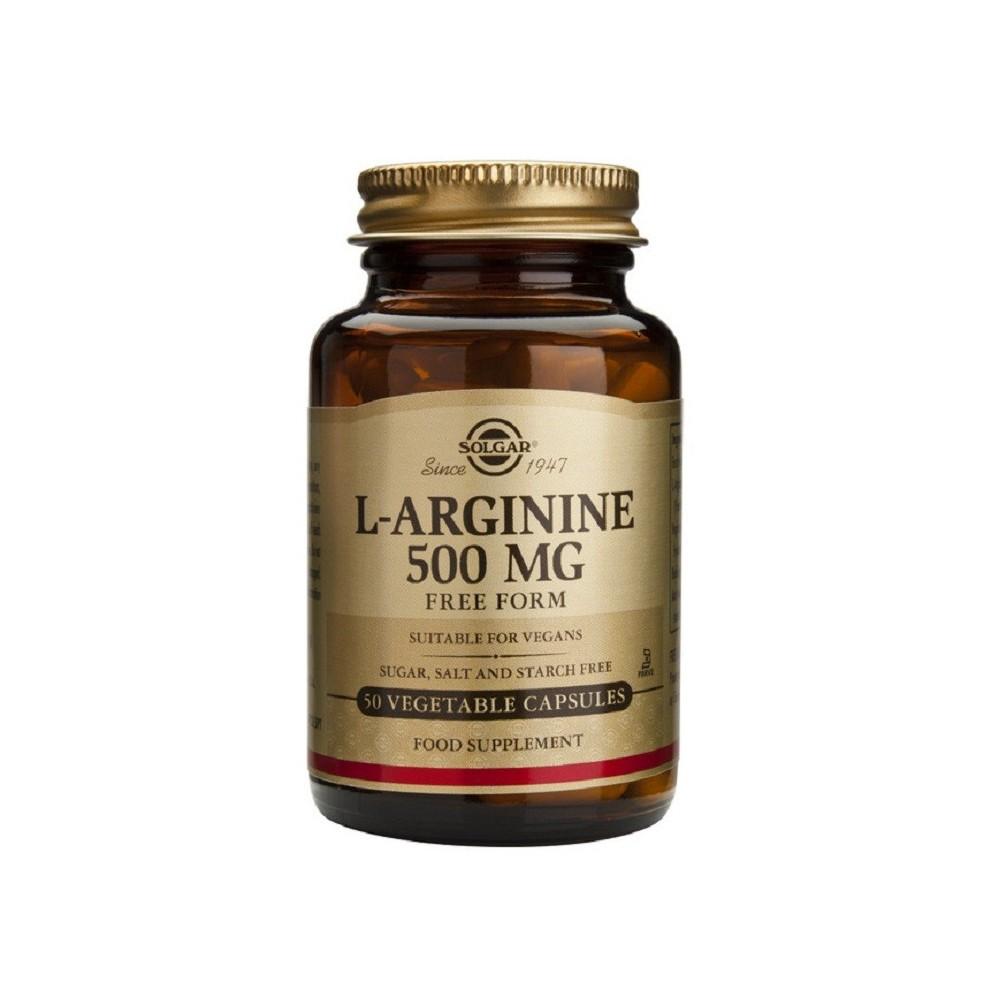 L-Arginina aminoácido esencial de Solgar