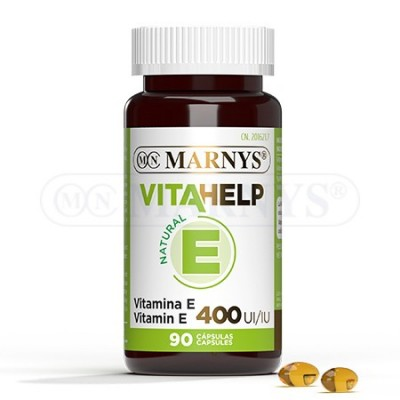 Vitamina E 400 UI Línea VITAHELP de Marnys Marnys MN809 Vitaminas y Minerales salud.bio