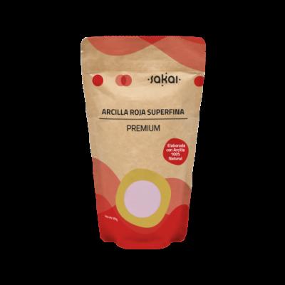 Arcilla Roja Superfina Premium de Sakai Sakai laboratorios 8423245230209 Cosmética Natural salud.bio