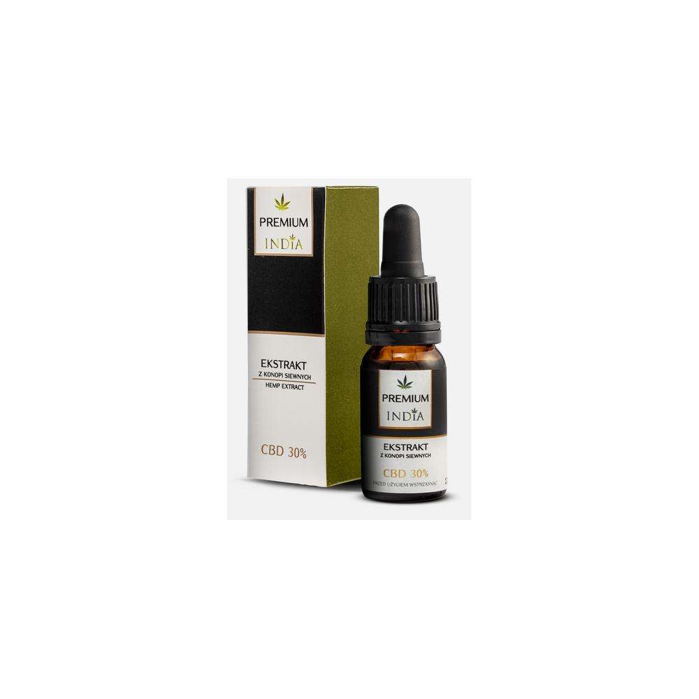 Extracto de CBD 30% 10ml de India lab India Labs Cosmetic and Dood  5903991430038 Plantas Medicinales salud.bio