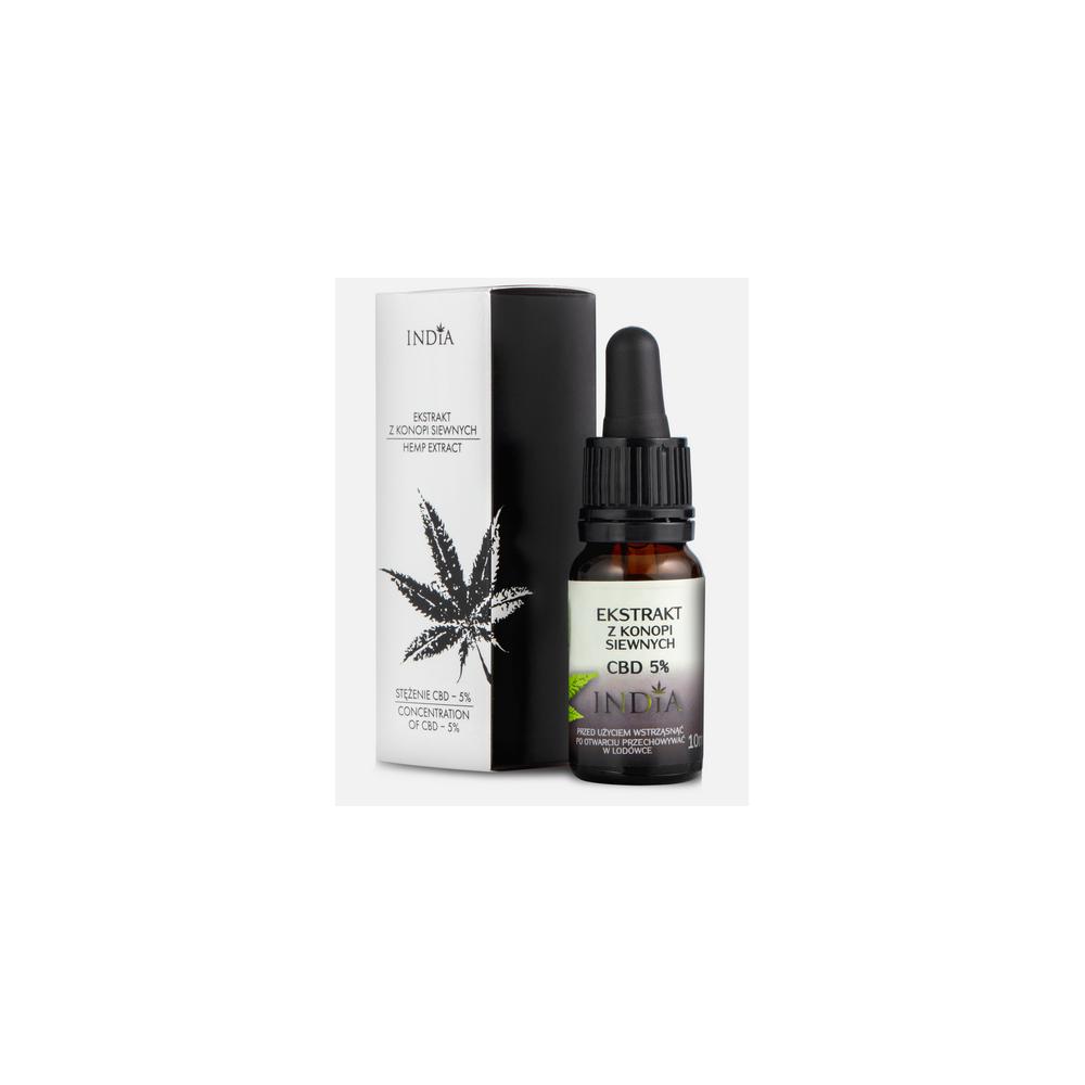 Extracto de CBD 5% 10ml de India lab India Labs Cosmetic and Dood  5903707352043 Plantas Medicinales salud.bio