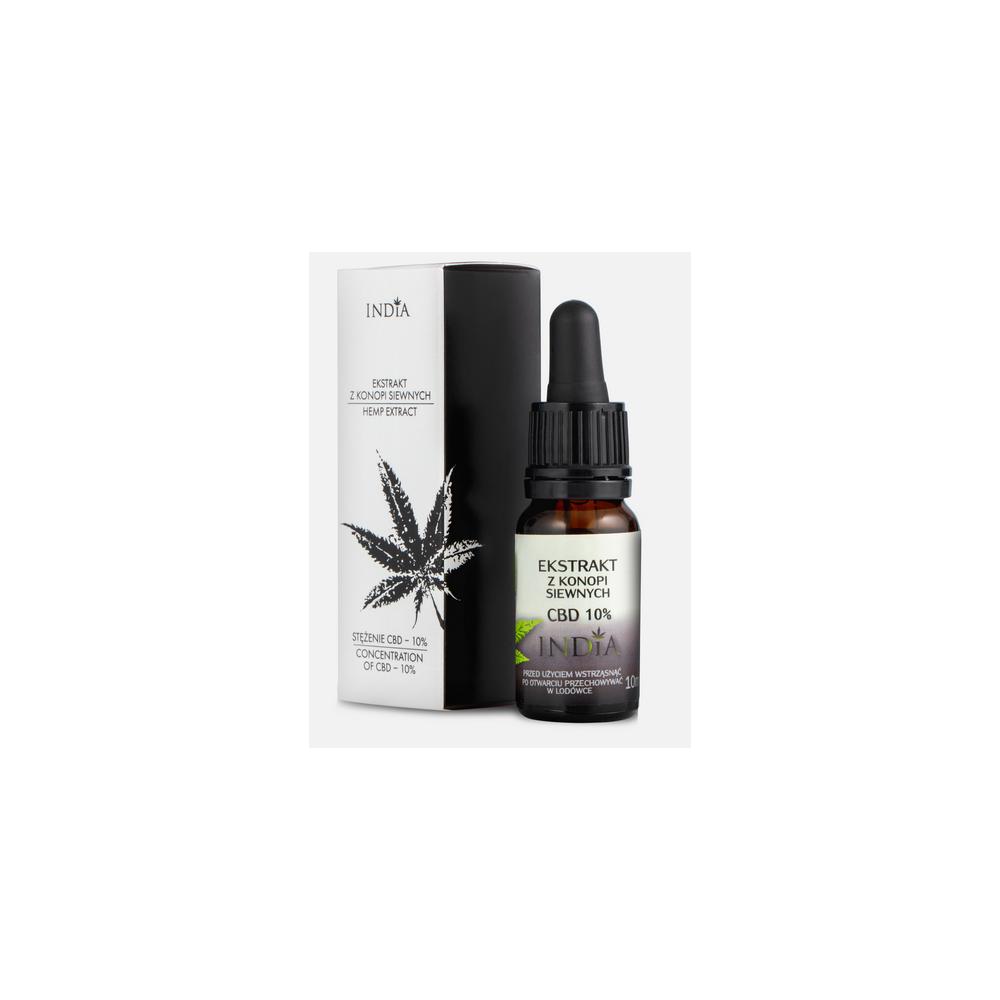Extracto de CBD 10% 10ml de India lab India Labs Cosmetic and Dood  5903707352050 Plantas Medicinales salud.bio